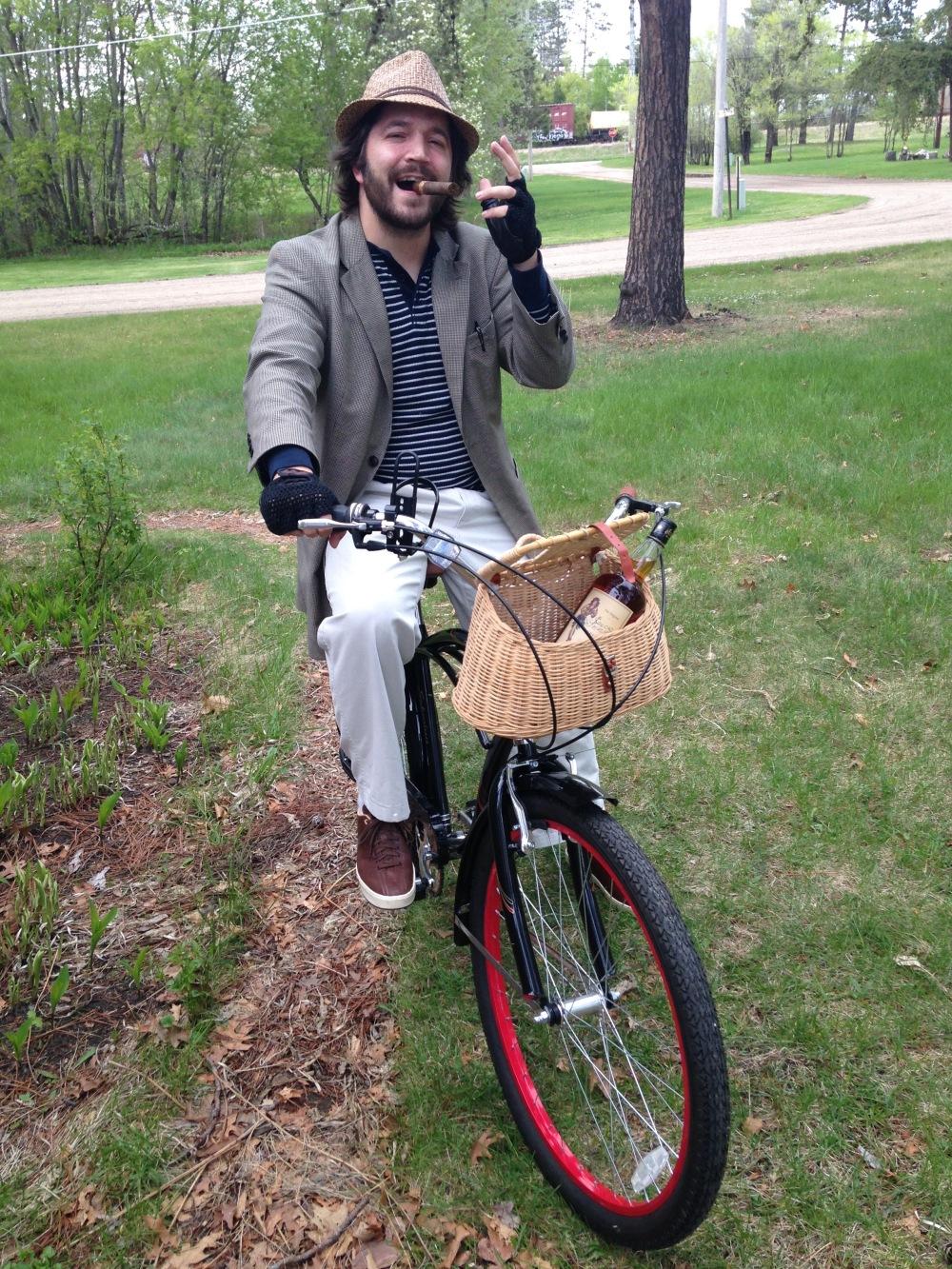 biking with style