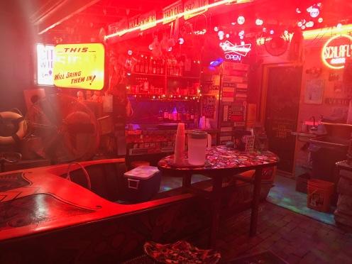 Venice Cafe boat bar.