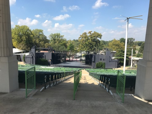 The stage of the Muny.